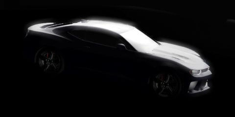 Chevrolet Camaro : Next-generation coupe rendered from Detroit teaser image