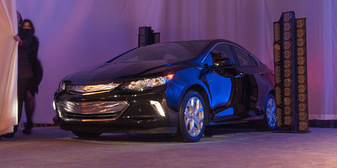 Chevrolet Volt: Second-generation plug-in hybrid revealed at CES