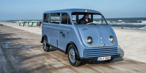 Audi restores one of two remaining DKW Schnellaster electric vans