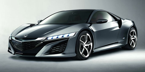 Honda NSX concept confirmed for Australian Formula One Grand Prix showing