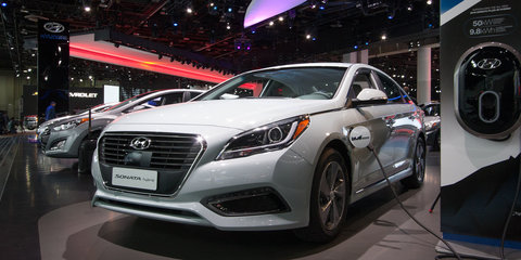 Hyundai Sonata Plug-in Hybrid unveiled, capable of 35km in EV mode