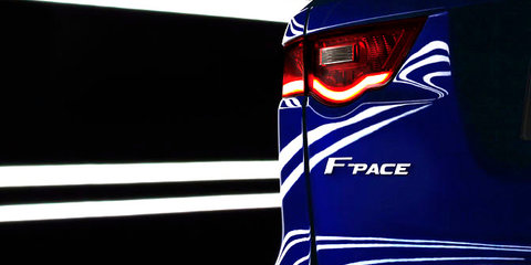 Jaguar F-Pace name confirmed for luxury sports crossover
