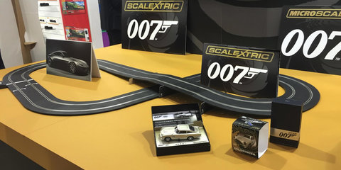 Aston Martin DB10 and Jaguar C-X75 available to buy...from Scalextric