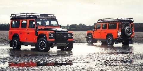 2018 Land Rover Defender SVX, SVAutobiography models under consideration