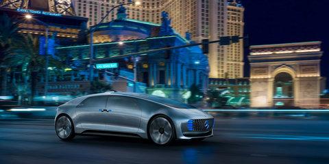 Mercedes-Benz F015 Luxury in Motion autonomous concept unveiled at CES