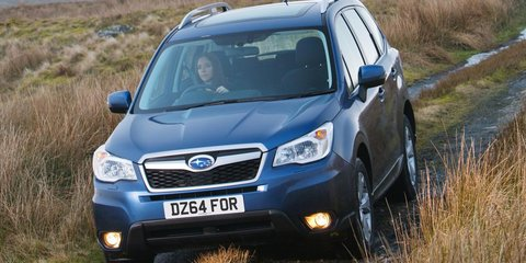 2015 Subaru Forester uncovered with new interior, diesel-auto drivetrain