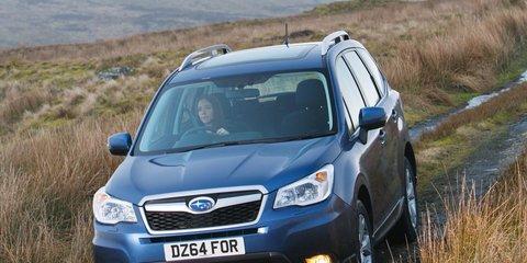 2015 Subaru Forester uncovered with new interior, diesel-auto drivetrain