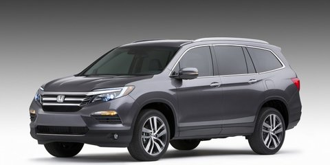 2016 Honda Pilot large SUV revealed, ruled out for Australia