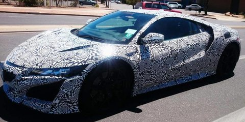 Honda NSX spied testing in Australia — UPDATED