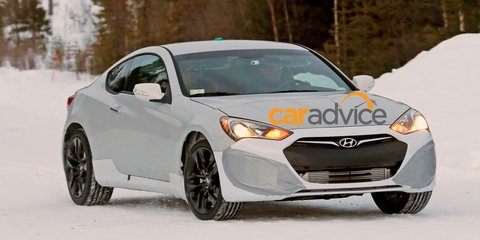 Hyundai Genesis Coupe replacement spotted undergoing testing
