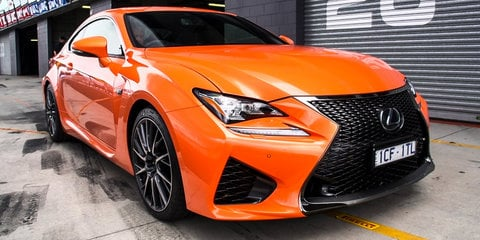 Lexus RC F review : Track drive at Mount Panorama