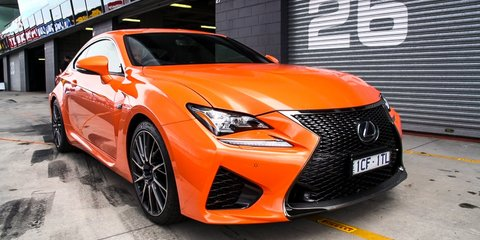 2015 Lexus RC F Review : first drive
