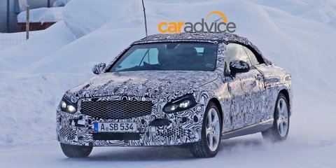 2016 Mercedes-Benz C-Class Cabriolet spied