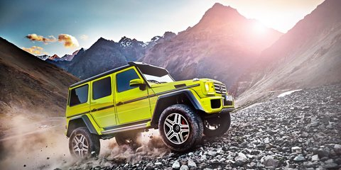 2015 Mercedes-Benz G500 4x4² revealed ahead of Geneva motor show