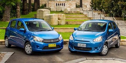 Suzuki Celerio v Mitsubishi Mirage : Comparison review