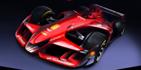 Scuderia Ferrari previews the future of Formula One