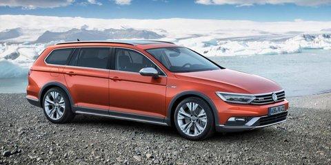 2015 Volkswagen Passat Alltrack unveiled