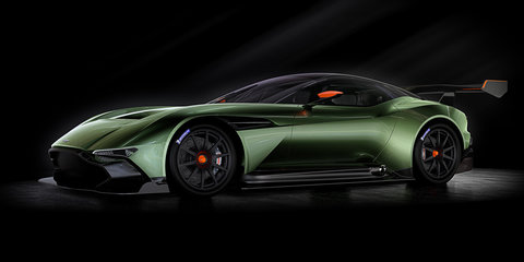 Aston Martin Vulcan unveiled with 597kW-plus 7.0-litre V12