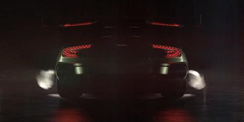 Aston Martin Vulcan teaser video shows off the car's rear