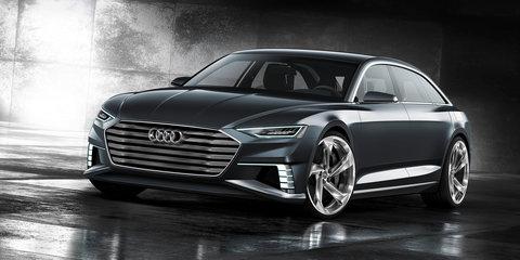 Audi Prologue Avant concept car detailed in full prior to Geneva