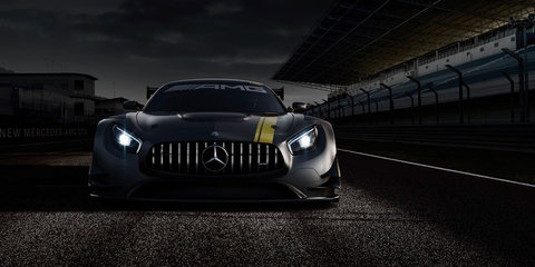 Mercedes-AMG GT3 race car teased ahead of Geneva