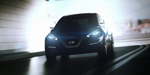 Nissan Sway concept car previews design for small Euro hatch