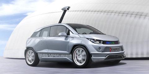 Rinspeed Budii reimagines the BMW i3 as an autonomous vehicle