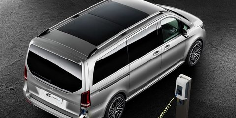 Mercedes-Benz Vision e Concept provides a glimpse into the future of vans