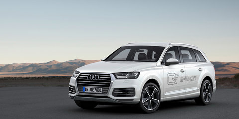 2015 Audi Q7 e-tron diesel plug-in hybrid revealed, Australia confirmed: UPDATE