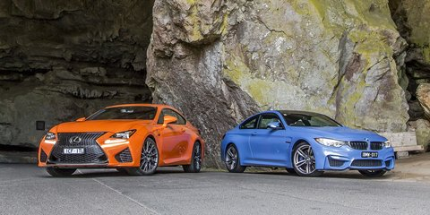 Lexus RC F v BMW M4 : Comparison review