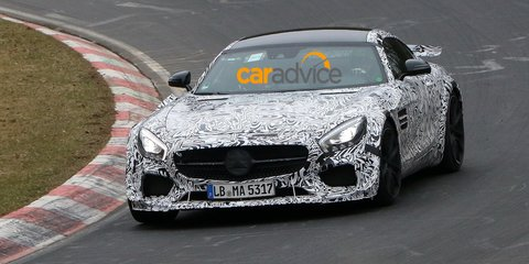 Mercedes-AMG GT: Hardcore, possible Black Series prototype spied testing