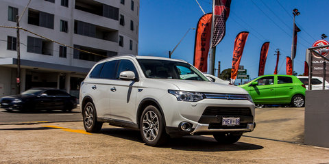 2016 Mitsubishi Outlander PHEV set to adopt a different look to the regular range