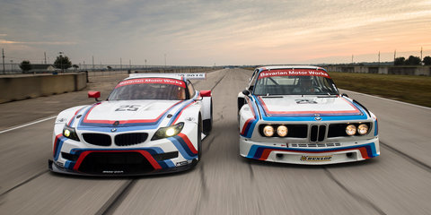 BMW celebrates 40th anniversary Sebring win with CSL inspired Z4 GTLM