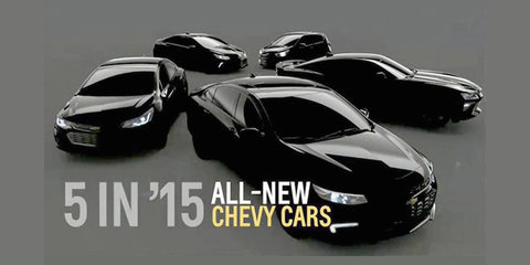 Next-gen Chevrolet Camaro, Malibu teased in leaked promotional image
