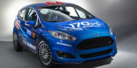Ford Fiesta R2 rally car revealed, no Fiesta RS planned