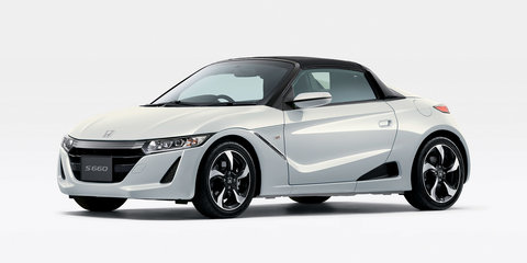 Honda S660 officially unveiled in Japan - UPDATE