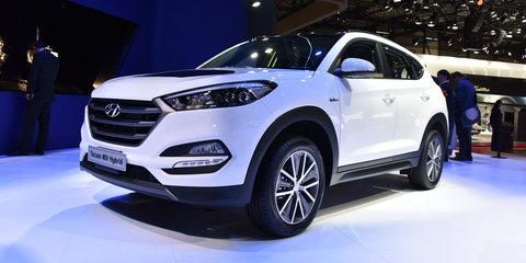 Hyundai Tucson 48V Hybrid, diesel plug-in hybrid concepts shown in Geneva