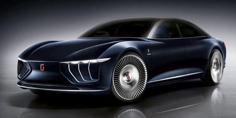 Italdesign GEA imagines itself as an autonomous luxury sedan