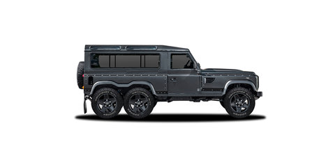 Kahn Flying Huntsman 6x6 Land Rover Defender concept heading to Geneva