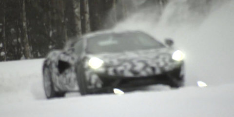 McLaren Sports Series to debut in New York, engine note teased in video