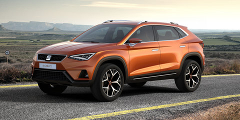 Seat 20V20 concept previews 2016 SUV