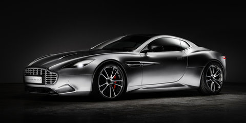 Aston Martin Vanquish redesigned by Henrik Fisker as the Thunderbolt
