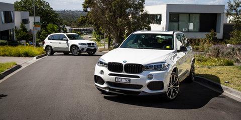 BMW X5 Old v New comparison: Second-generation E70 v third-generation F15