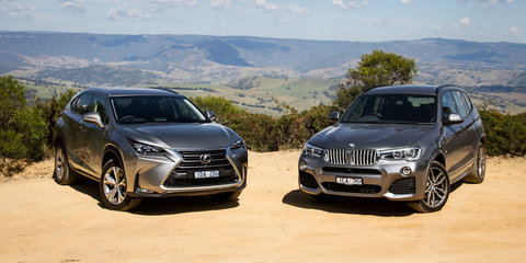 BMW X3 xDrive28i v Lexus NX200t Sports Luxury – prestige SUV comparison test
