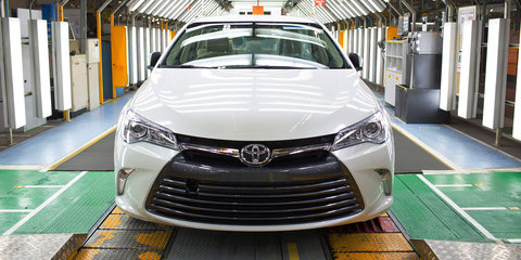 Toyota backs Camry sales to stay strong until end of local production