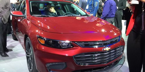 2016 Chevrolet Malibu possible in right-hand drive
