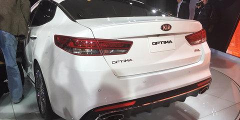 Kia Optima 1.6-litre turbo 'wouldn't make sense' for Australia
