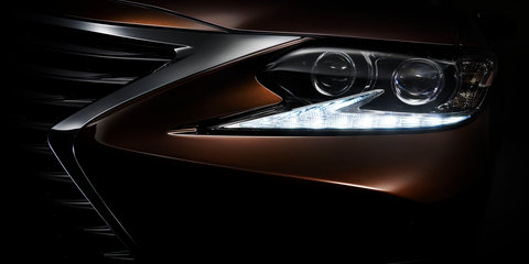 2016 Lexus ES to debut at Shanghai motor show