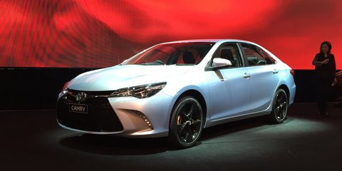 2015 Toyota Camry production kicks off at Altona