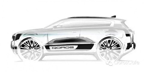 Qoros 2 SUV teased ahead of 2015 Shanghai motor show debut